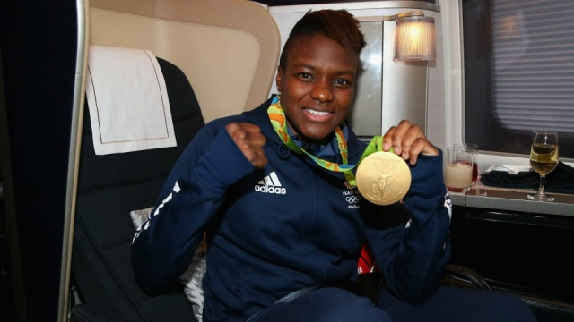 Nicola Adams flies home from Rio 2016 with her gold medal