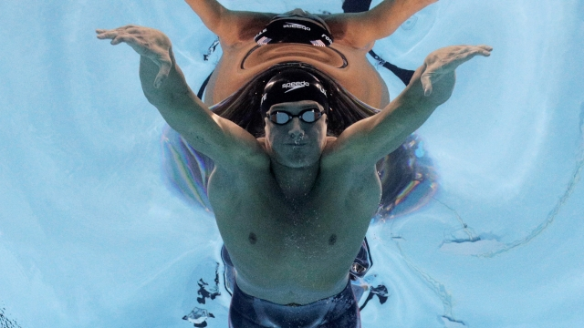 Ryan Lochte of the United States competes in the second Semifinal of the Men's 200m Individual Medley on Day 5 of the Rio 2016 Olympic Games