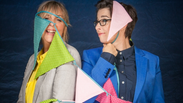 Mel Giedroyc and Sue Perkins will not continue to co-host The Great British Bake Off on Channel 4 (Photo: BBC)