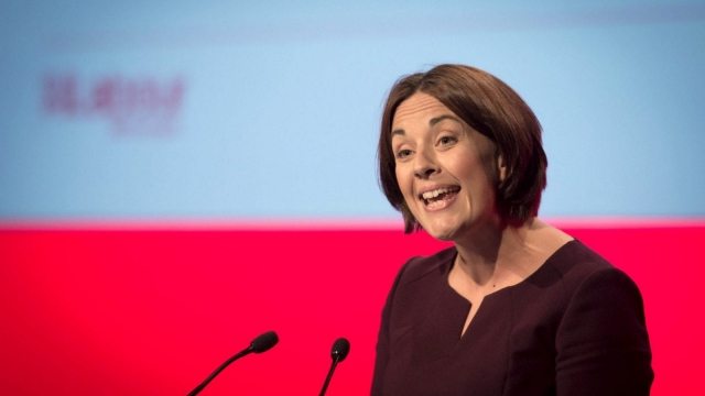 Kezia Dugdale accused the SNP of masquerading as a left wing party (Photo: PA)