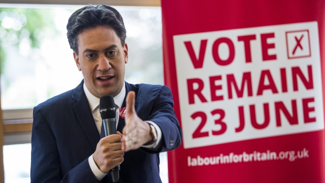 Ed Miliband has said Labour cannot just appeal to Remain voters