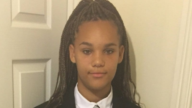 Chyna Cowie-Sullivan, 14, was ordered by her school to remove her extensions on the first day of term