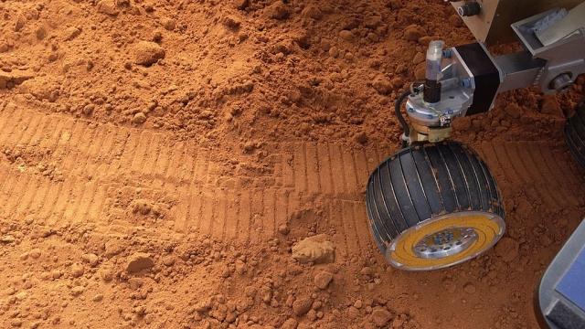 A simulated Mars Rover at Walt Disney World (Photo: Disney/Getty)