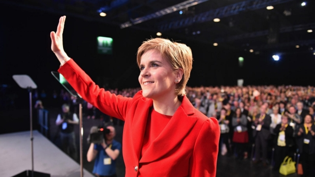 The initiative was originally announced by Ms Sturgeon during her speech to the SNP spring conference in March (Photo: Getty)