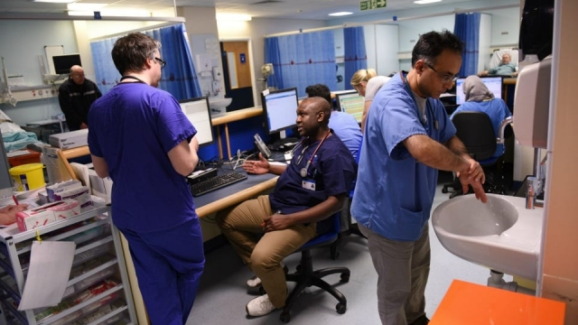 Dozens of overseas doctors are in limbo after accepting job offers with the NHS but having visa applications turned down by the Home Office.