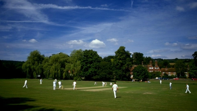 Village cricket games like this are under threat as the number of people playing falls