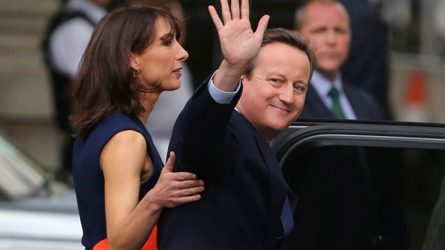 David Cameron leaves Downing Street in July (Photo: Getty)