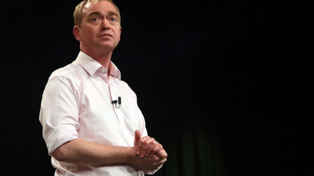 Tim Farron at the Lib Dem conference (Photo: Steve Parsons/PA Wire)