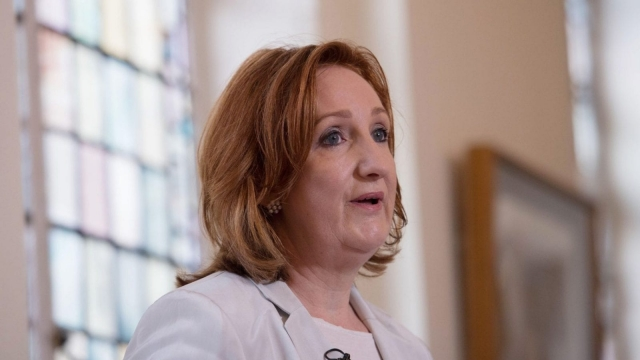 Suzanne Evans described Ukip as 'toxic' as she announced her bid for the party's leadership (Photo: PA)