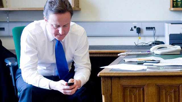 """David Cameron reportedly fired off a text message to Boris Johnson after Michael Gove withdrew his support for his Conservative leadership bid, telling him: """"You should have stuck with me, mate' (Getty Images)"""