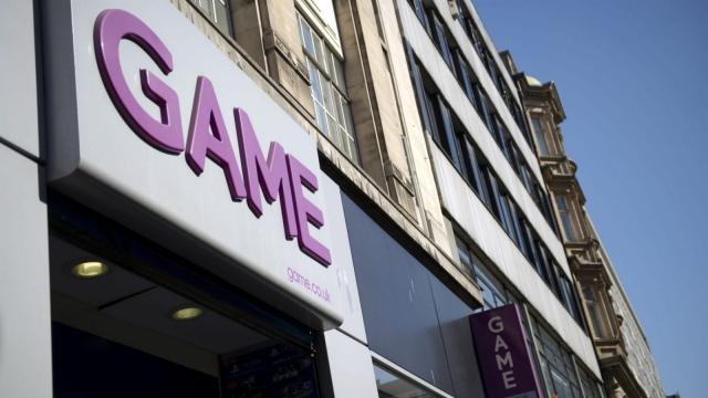 video game retailer Game