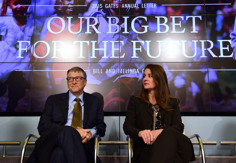 Bill and Melinda Gates have pledged to give away over half of their fortune (Photo: Getty)