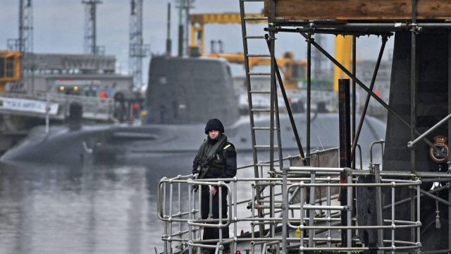 A Trident submarine on the Clyde (Photo: Getty)