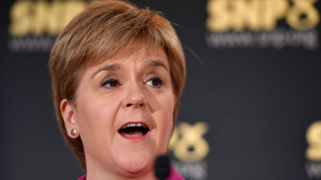 Nicola Sturgeon will give her opening address to the SNP conference today (Photo: Getty)