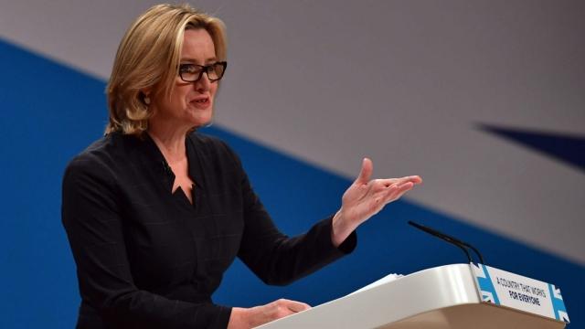 Home Secretary Amber Rudd has pledged fresh action on acid attacks and knife crime