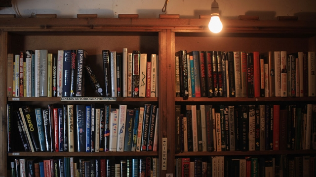 """Every year thousands of book lovers, authors and artists descend on Hay-on-Wye - but residents of the """"town of books"""" have been warned Hay library could be closed to save money (Photo: Getty Images)"""