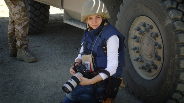 War photographer Kate Holt is calling for the British Government to provide support for Afghan soldiers tasked with carrying out anti-IED operations (Photo: Kate Holt)