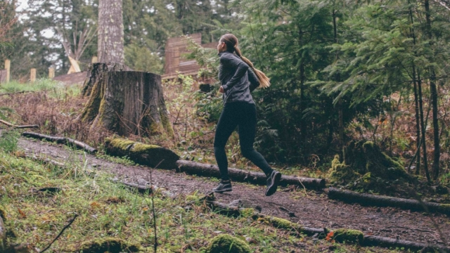 Running and walking outdoors is good for your physical and psychological health