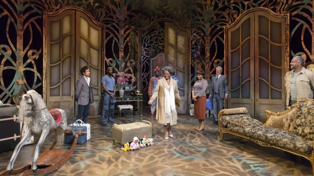 Bonnie Greer's new play 'The Hotel Cerise' is inspired by Chekhov's 'The Cherry Orchard'. Photo: Stephen Cummiskey