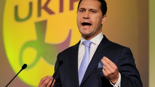 """Ukip leadership favourite Steven Woolfe was last night recovering in hospital after fears of a brain injury following an """"altercation"""" with a colleague in the European Parliament"""