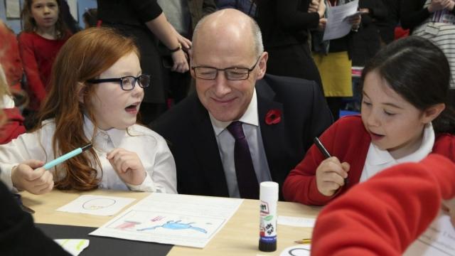 Education Secretary John Swinney is considering the grade changes (Photo: Scottish Government)