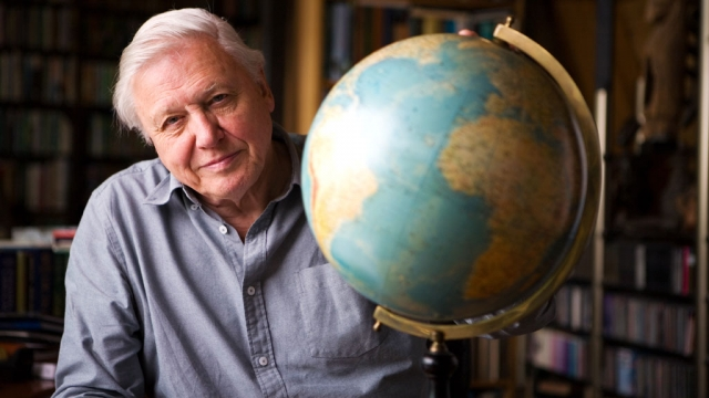 Sir David Attenborough praised the rise in concern among world leaders towards the environment