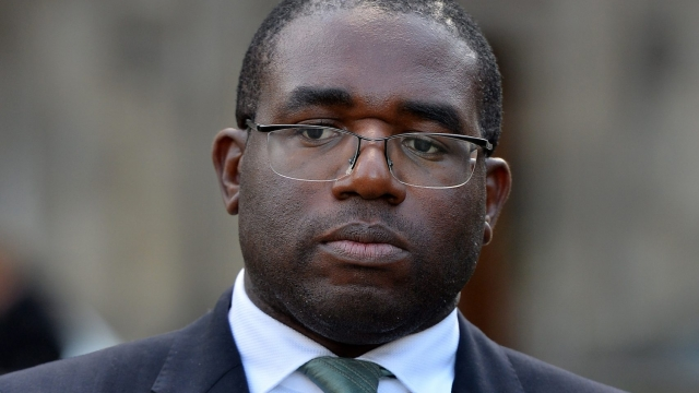 The study was led by Labour MP David Lammy (Photo: Getty)