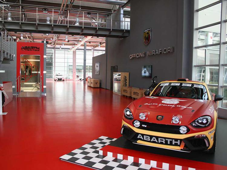 Abart 124 rally car