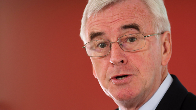 John McDonnell: NHS faces 'worst crisis' in its history (Photo: PA)