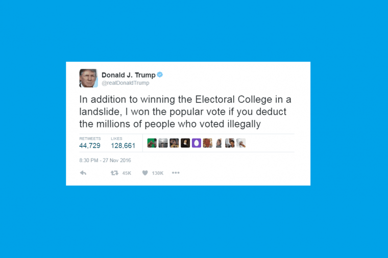 Donald Trump is a prolific Twitter user (Image: Twitter)