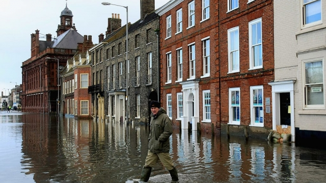Flood defences are a major issue in Great Yarmouth, which has been hit by flooding multiple times in recent years (Photo: Getty)