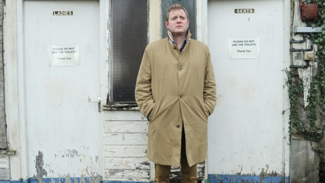 Miles Jupp photographed in Monmouthshire by David Secombe