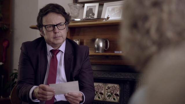 Rich Fulcher plays documentary-maker Christoph Spinetti in 'Sexy Murder'