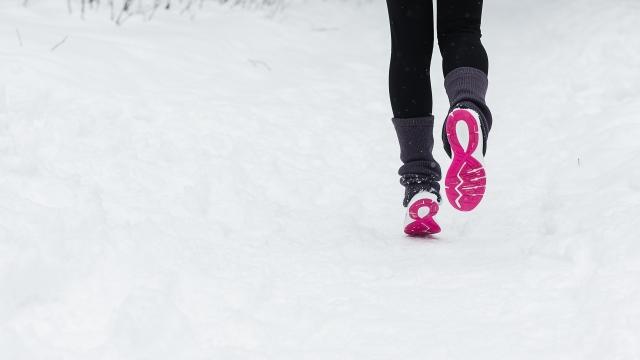 Runner snow