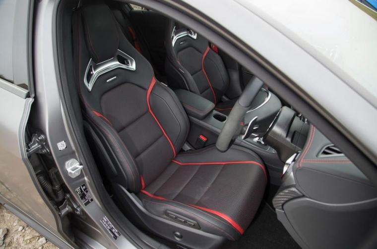 Mercedes-AMG A45 interior