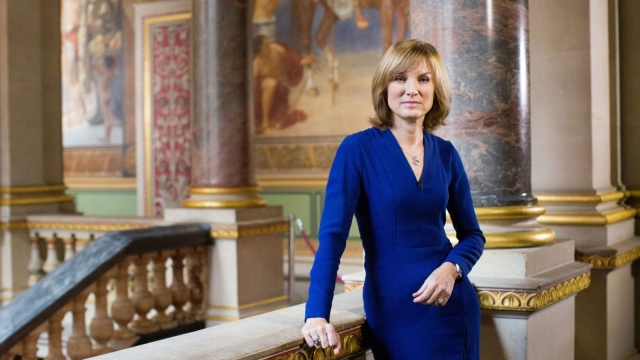 Fiona Bruce will not have to disclose how much she earns from Crimewatch (Photo: BBC)