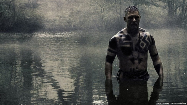 Tom Hardy brings a feral charisma to the role of James Delaney