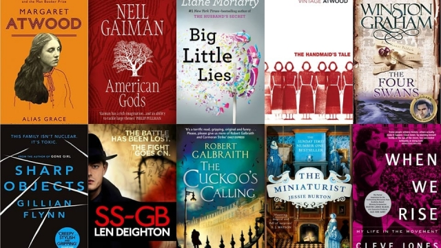 Books becoing TV adaptations jackets