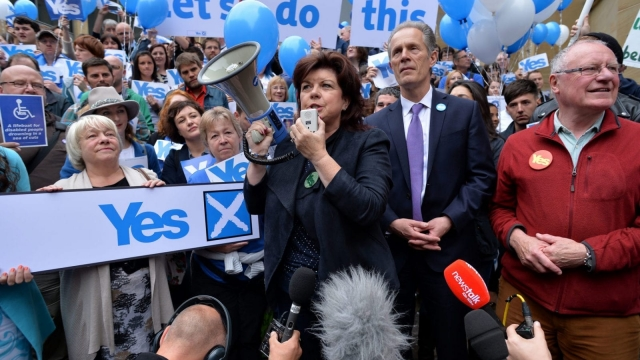 Elaine C Smith, convenor of the Scottish Independence Convention, campaigned for independence in 2014 (Photo: Getty)