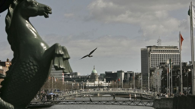 Dublin has ramped up its campaign against a hard border (Photo: Getty)