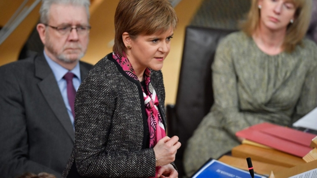 Nicola Sturgeon published plans setting out Scotland's future in Europe last month (Photo: Getty)