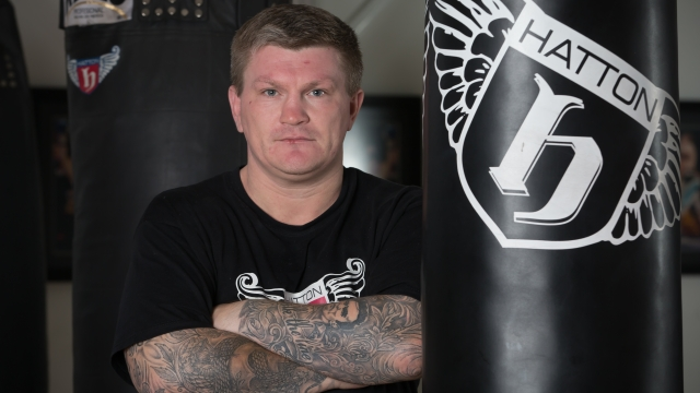 Ricky Hatton suffered mental health problems after he was defeated