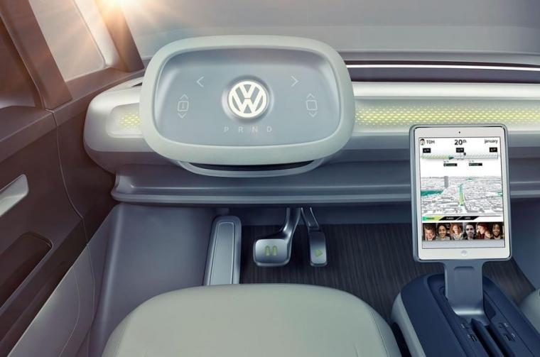 VW ID Buzz interior