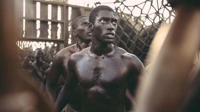 Malachi Kirby plays head strong Mandinga warrior Kunta Kinte