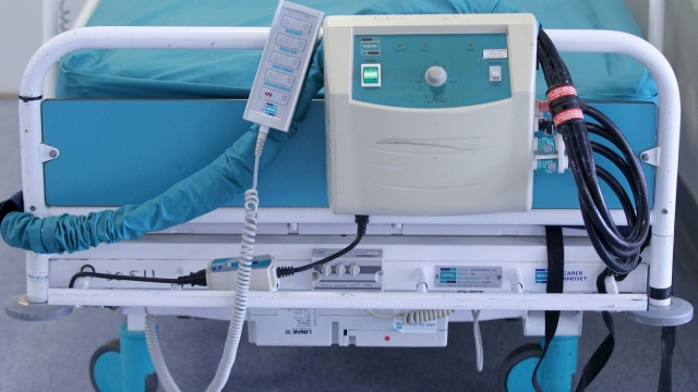 Pressure on beds in some intensive care wards has increased (Photo: PA)