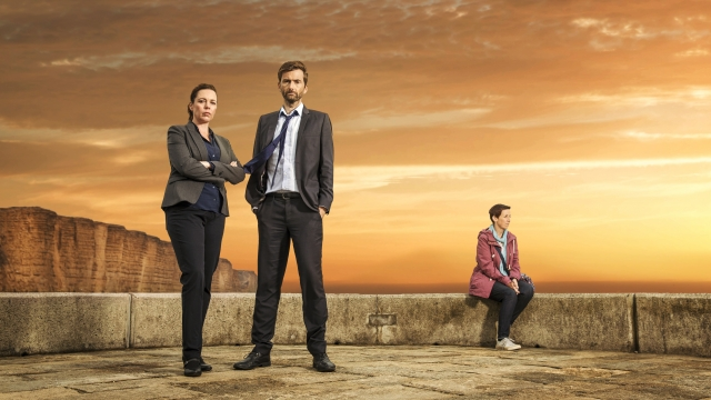 Olivia Colman and David Tennant return for series three of 'Broadchurch' while Julie Hesmondhalgh joins the cast Photo: ITV Plc