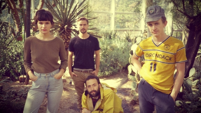 Big Thief, from Brooklyn in New York, are currently on tour in the UK