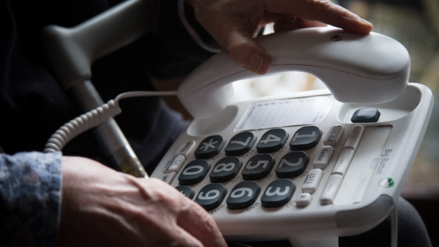 Customers who only buy landline products are more likely to be elderly and vulnerable (Photo: Getty)