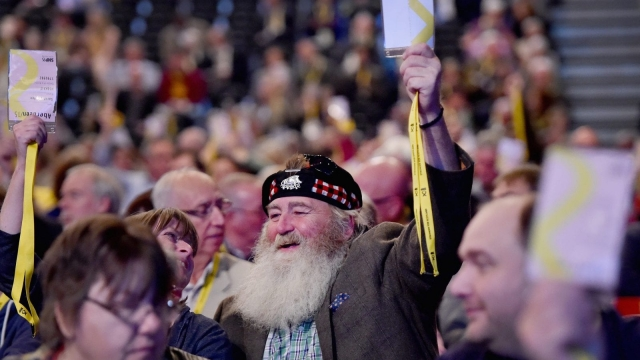 The SNP will have to persuade more than just its supporters of the economic case for independence (Photo: Getty)