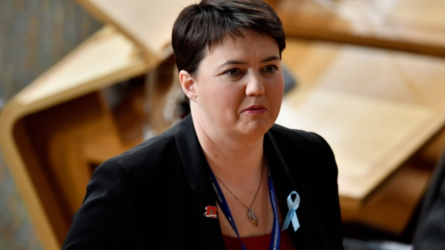 Ruth Davidson said the power of the Yes movement should not be underestimated (Photo: Getty)